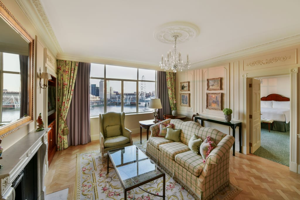 A Personality Suite at the Savoy London