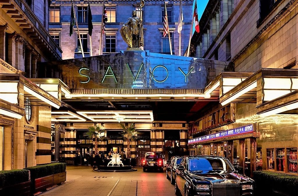 The Savoy : a London Landmark Hotel