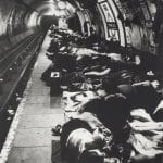 People Sheltering in the tube, Elephant and Castle Bill Brandt_1940_© Bill Brandt Bill Brandt Archive Ltd.