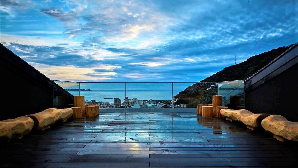 Hot Spring Hotel Opens in Atami Japan