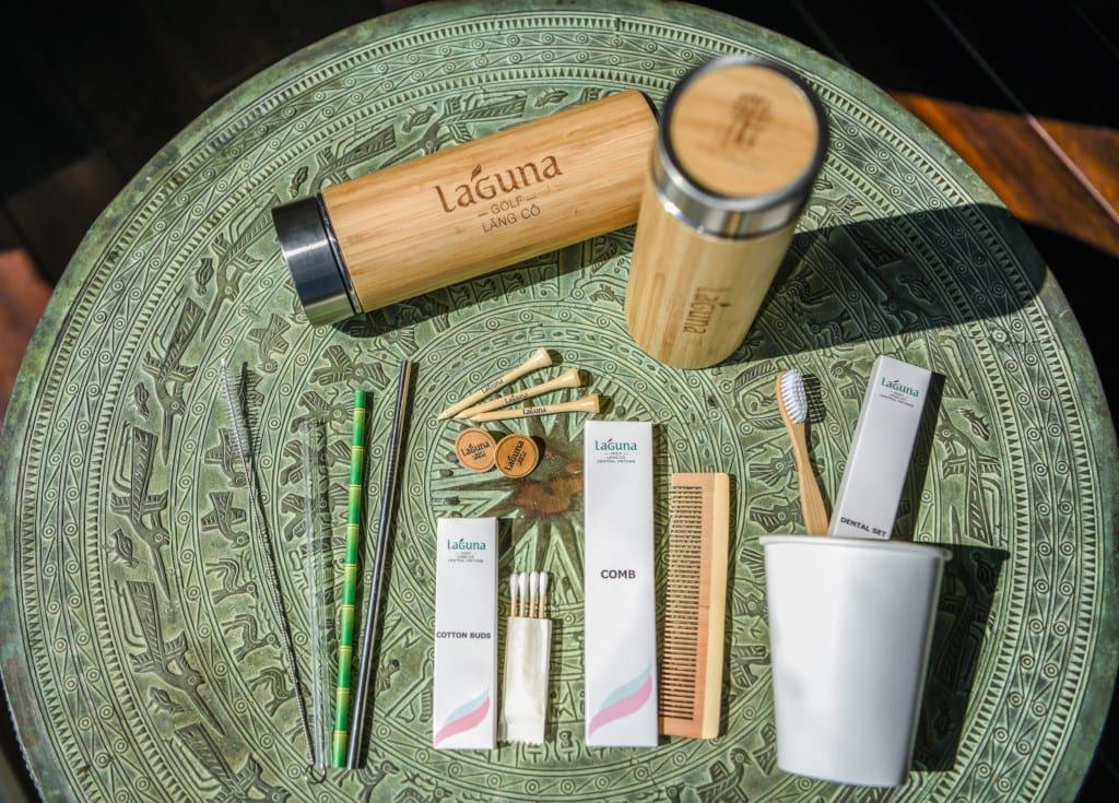 Laguna Lang Co has phased out plastic accessories in favour of items made with sustainable materials