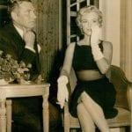 Marilyn Monroe & Laurence Olivier 1956
