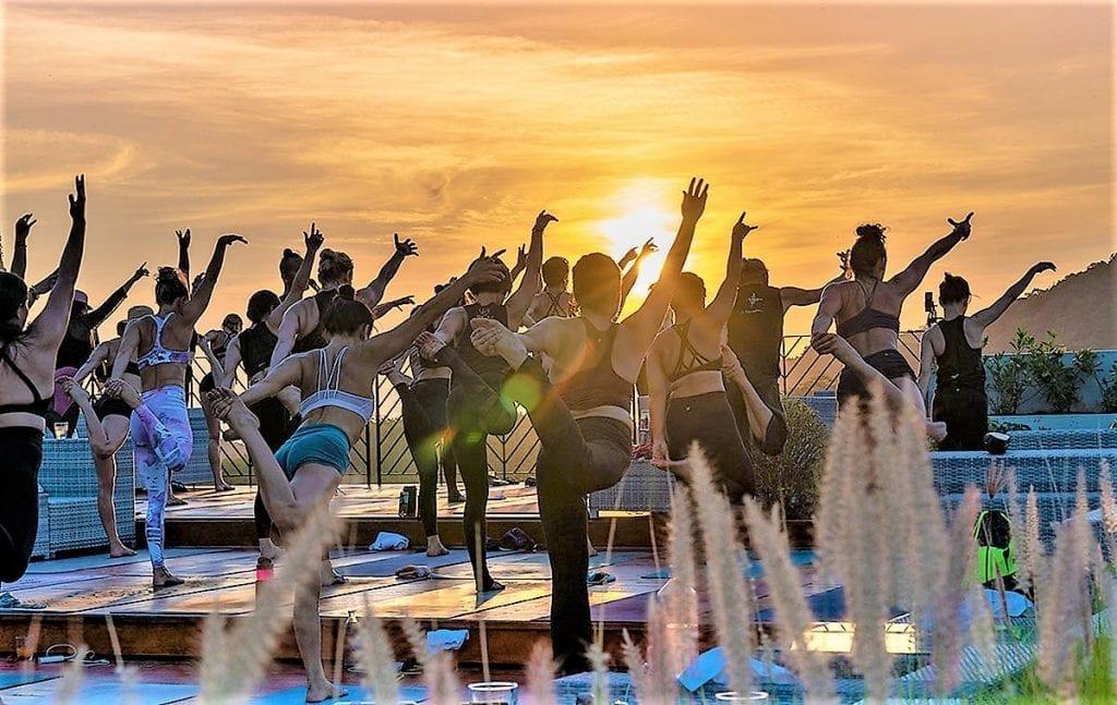 The Pavilions Anana Krabi Yoga Session