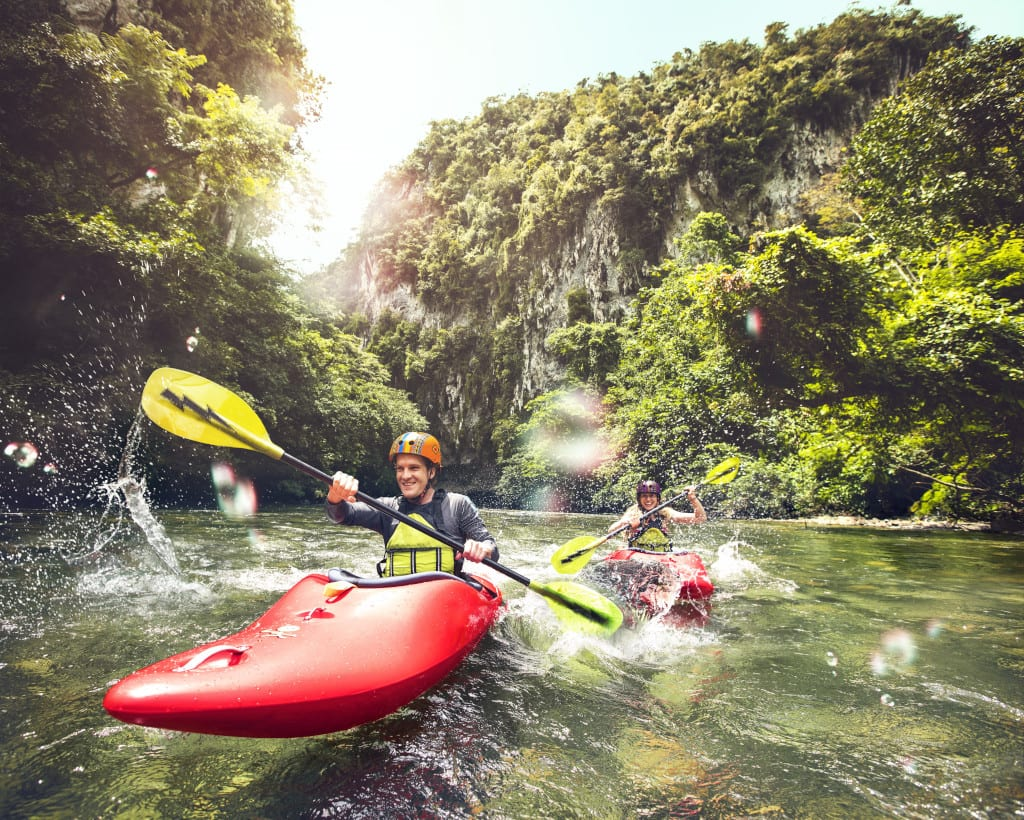 Kayaking is just one of a plethora of outdoor activities in Colombia.
