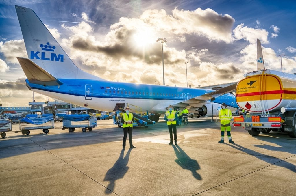KLM sustainable fuel