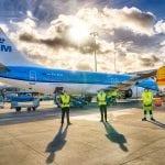 KLM : First Sustainable Synthetic Kerosene Flight