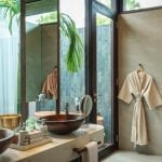 Bathroom at Amber Kampot Cambodia