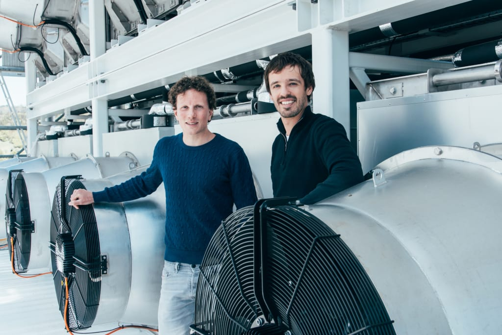 Direct Air Capture Climeworks founders Jan Wurzbacher & Christoph Gebald1