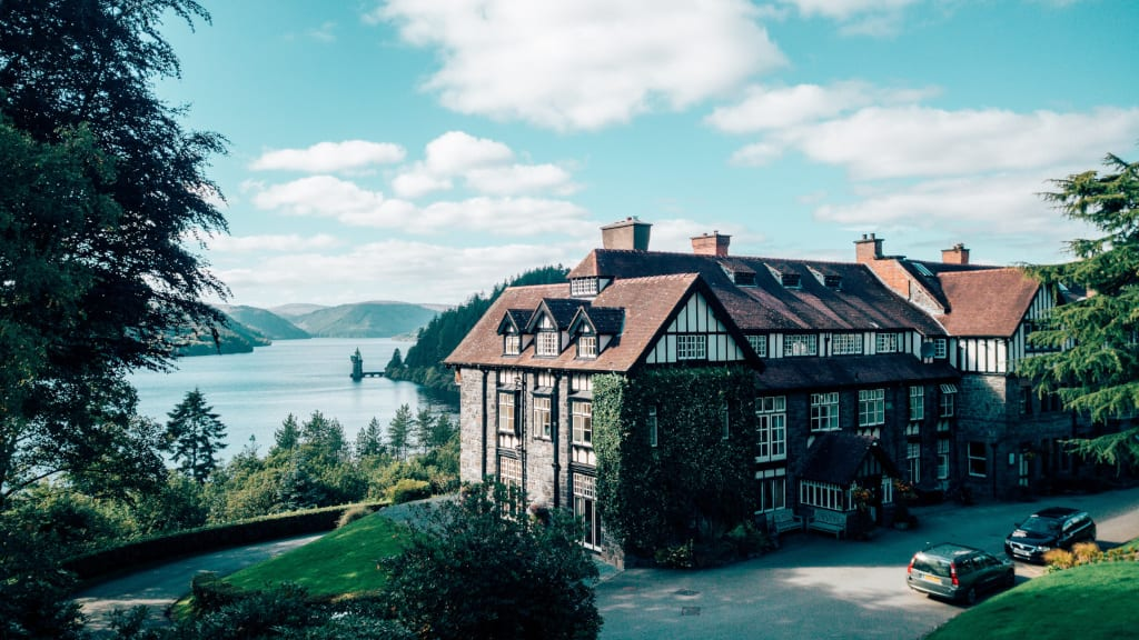 Lake Vyrnwy Hotel & Spa from Welsh Rarebits Hotels of Distinction Collection - exterior med