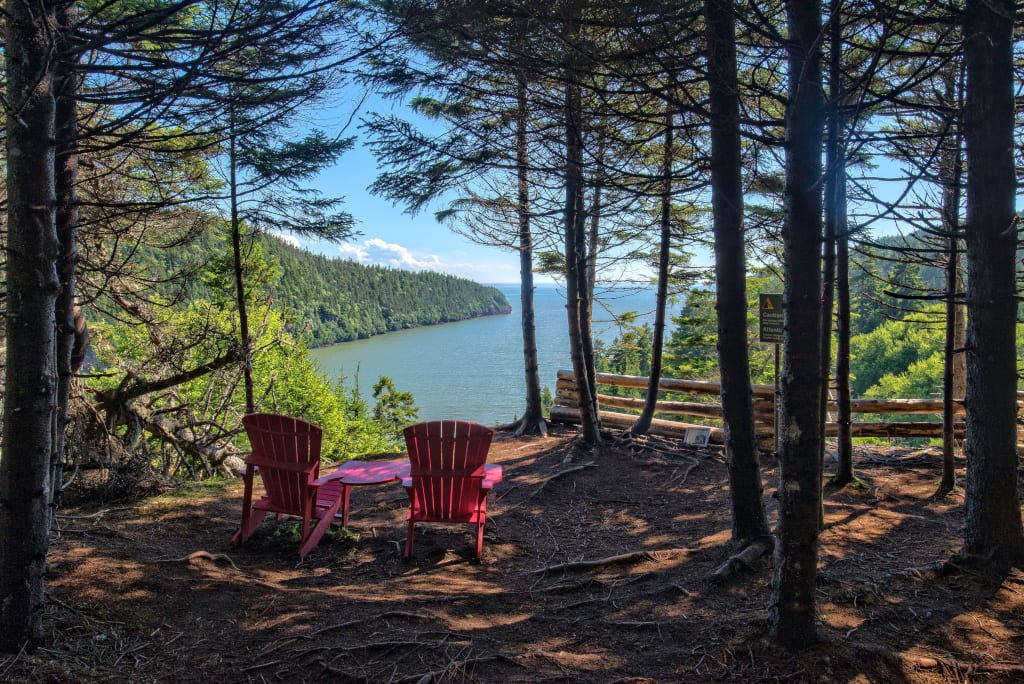 Enjoy the amazing views in Fundy National Park