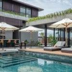 Pool Bar at Amber Kampot Cambodia