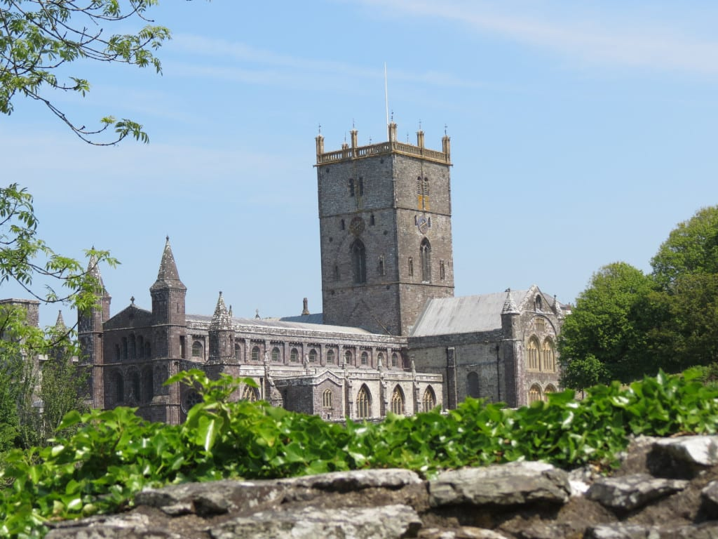 St Davids is one of the main attractions in Pembrokeshire.