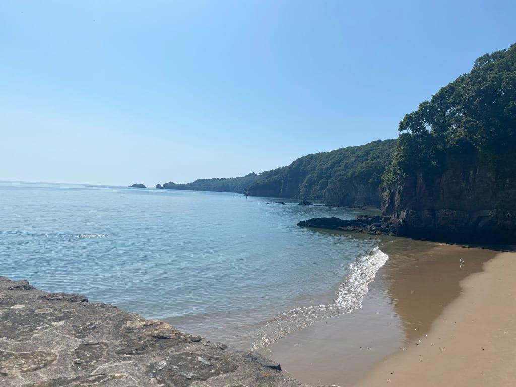 The Glenn Beach, Saundersfoot