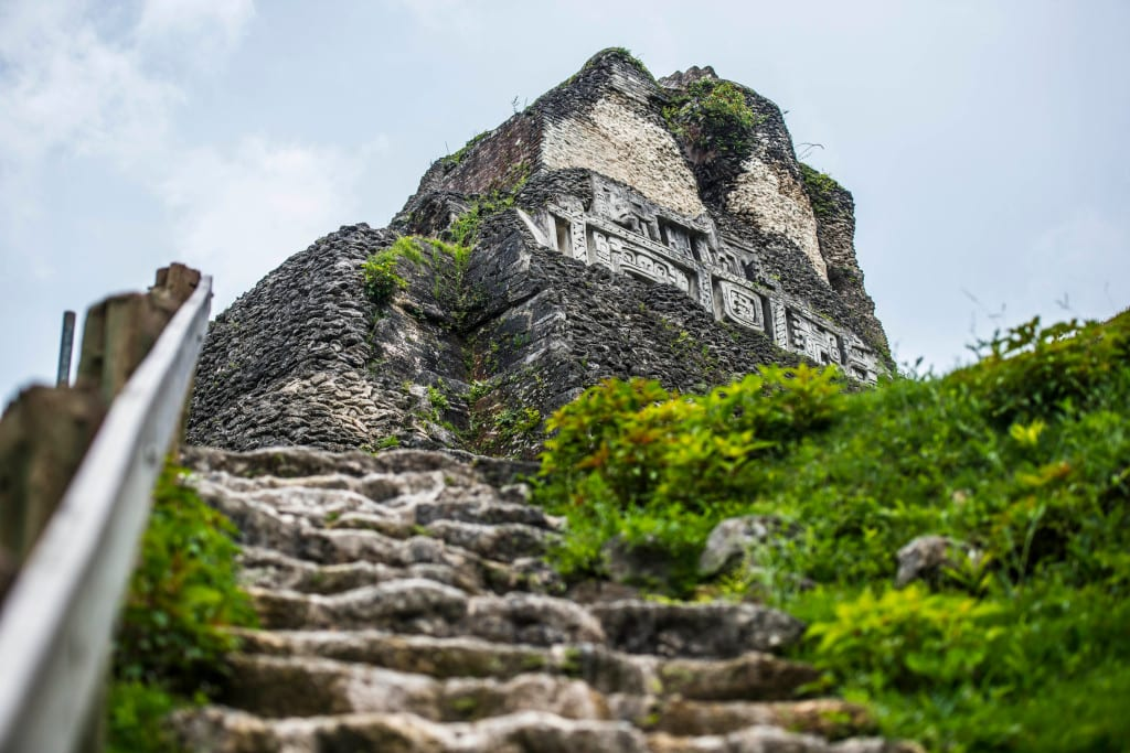 Belize has more than 600 Mayan sites Mayan Culture