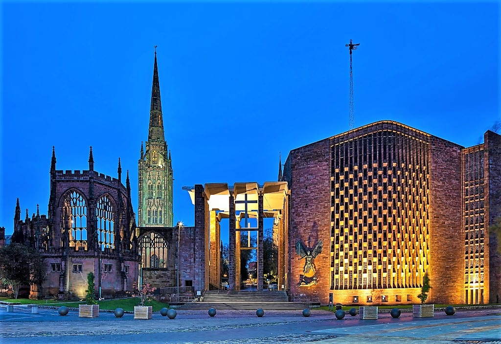 Coventry Cathedral. Credit Graeme Peacock