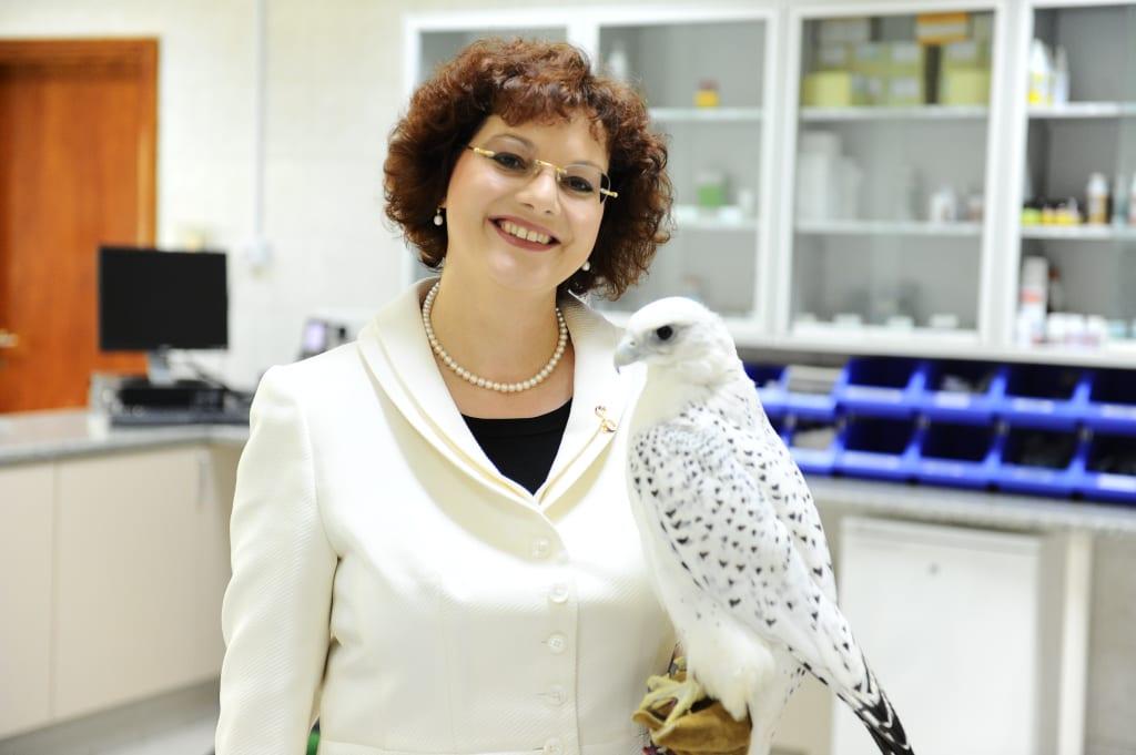 Dr. Margit Gabriele Muller, executivedirector of the Abu Dhabi Falcon Hospital