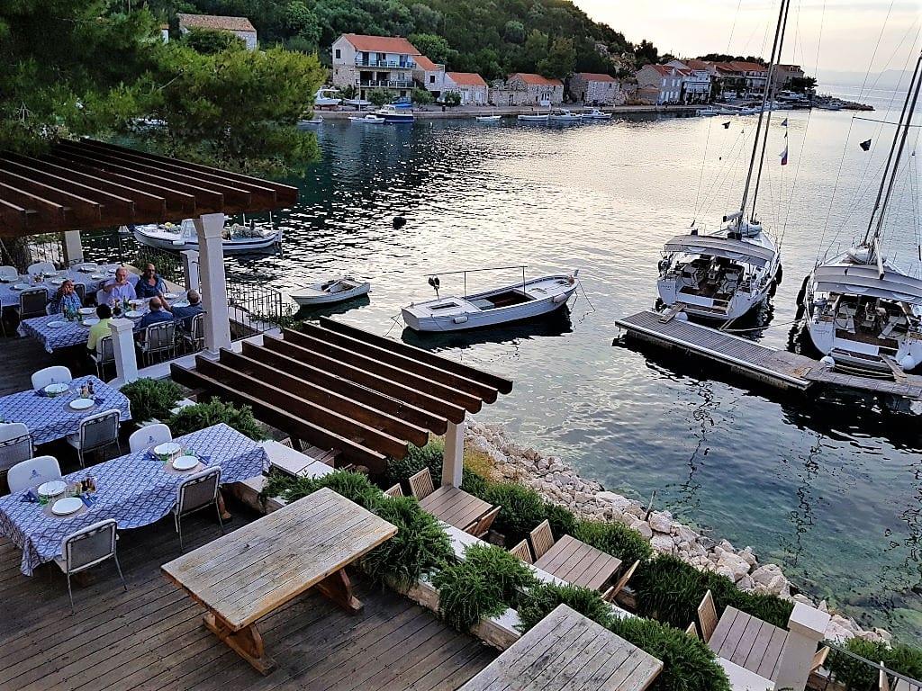 Lastovo harbour