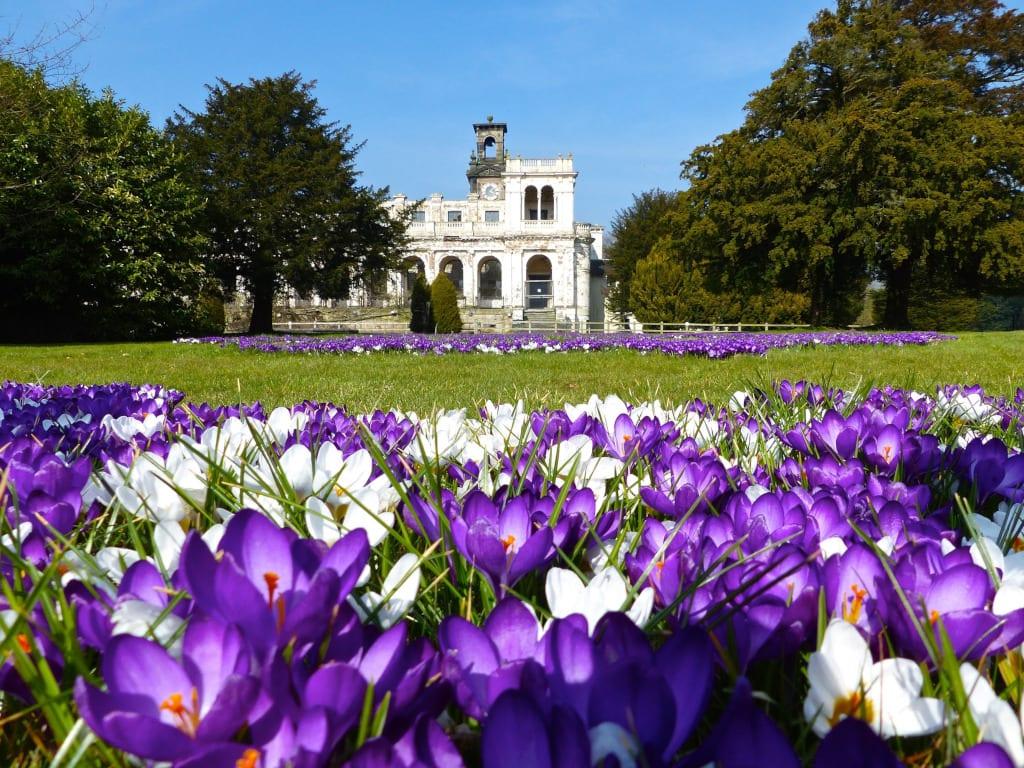 Trentham gardens spring