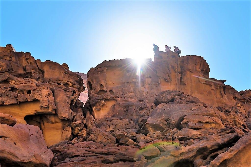 Hiking in AlUla, Saudi Arabia