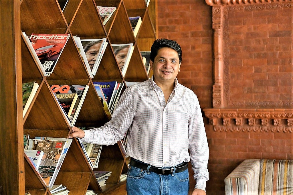 Shiva Dhakal, Chair of Community Homestay Network