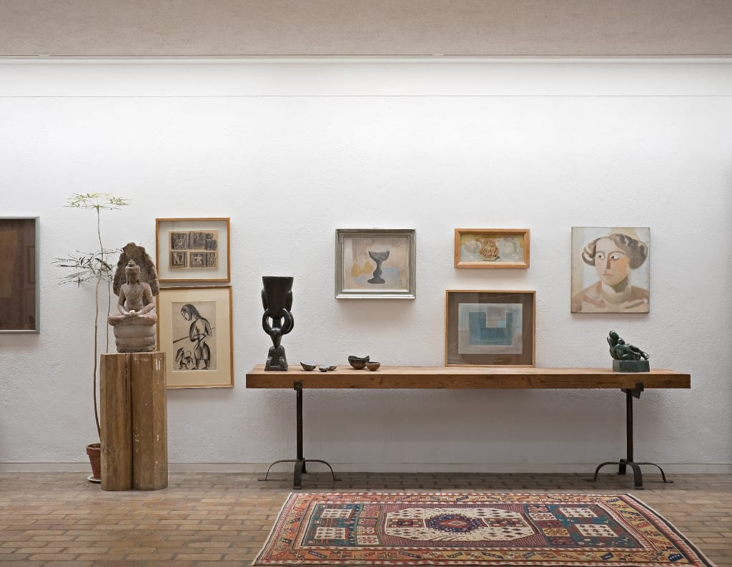 The concept of Kettle's Yard is to present artwork in a domestic setting, photo courtesy of Kettle's Yard