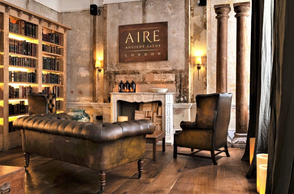Luxuriating in AIRE Ancient Baths London