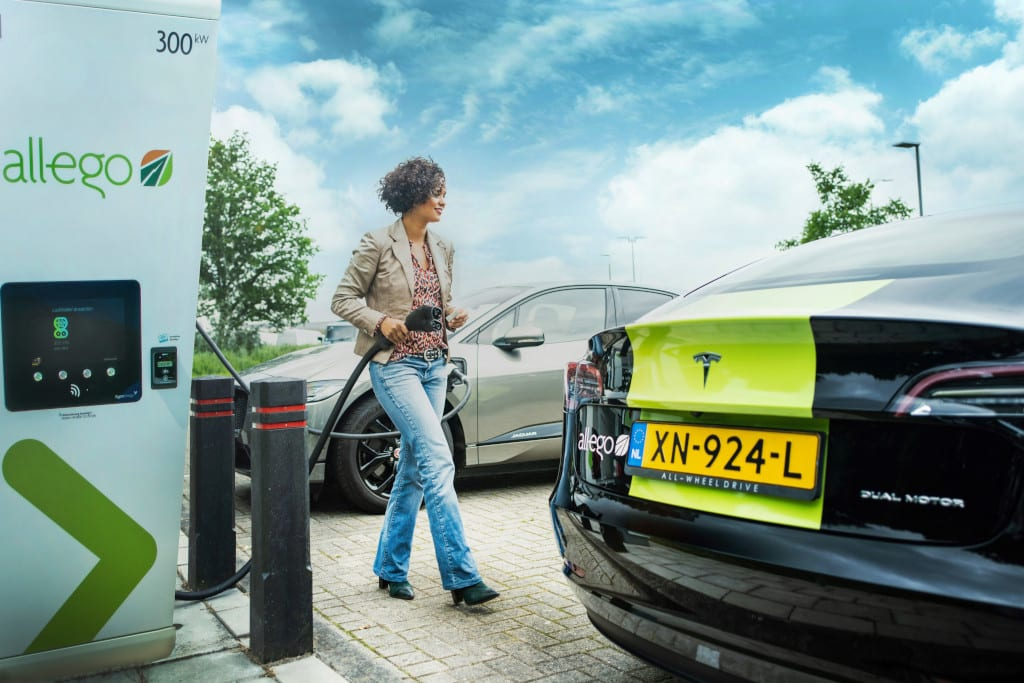 Allego ultra fast charging
