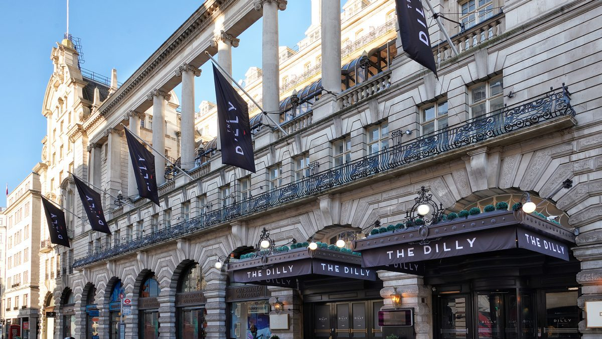 The Dilly Hotel London and Madhu's Restaurant