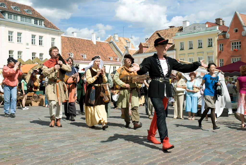 Medieval Days on Town Hall Square