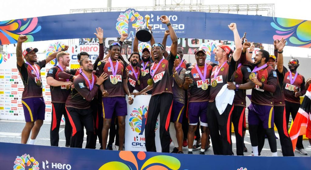 Trinbago Knight Riders, chapins of the 2020 tournament