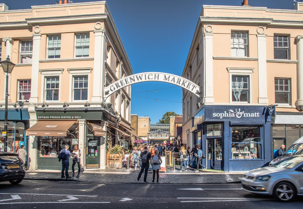 Greenwich Market, © Ed Simmons, photo provided by Visit Greenwich