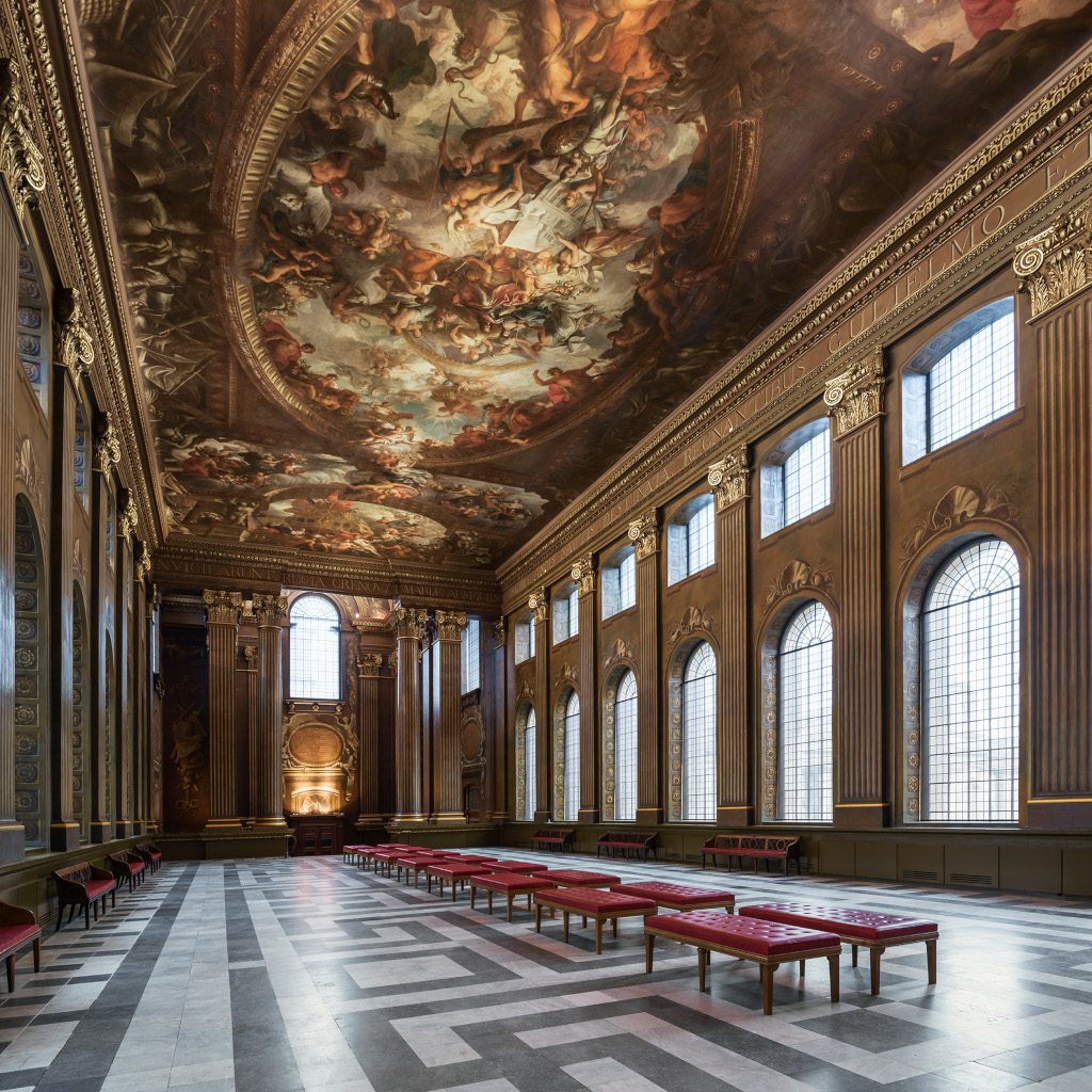 Painted Hall (c) Nikhilesh Haval, photo provided by Visit Greenwich