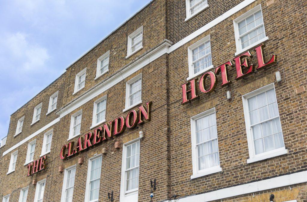 The Clarendon Hotel in Blackheath