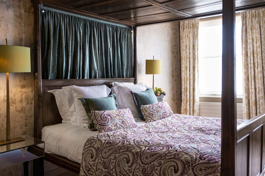 A good night's sleep at The Great House Hotel and Restaurant Lavenham
