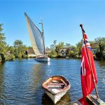 Sailing a Wherry Boat on the Norfolk Broads