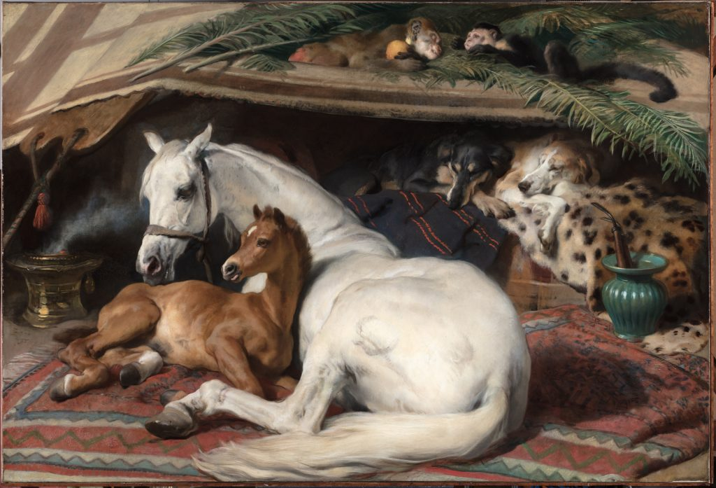 Edwin (Henry) Landseer (1802 - 1873), The Arab Tent, c.1865-1866 © The Trustees of the Wallace Collection