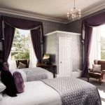 The bedrooms hae magnificent views of the surrounding countryside
