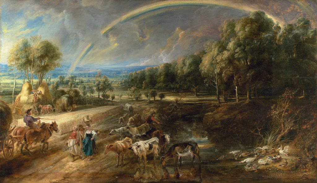 Peter Paul Rubens The Rainbow Landscape c. 1636 © Trustees of The Wallace Collection London