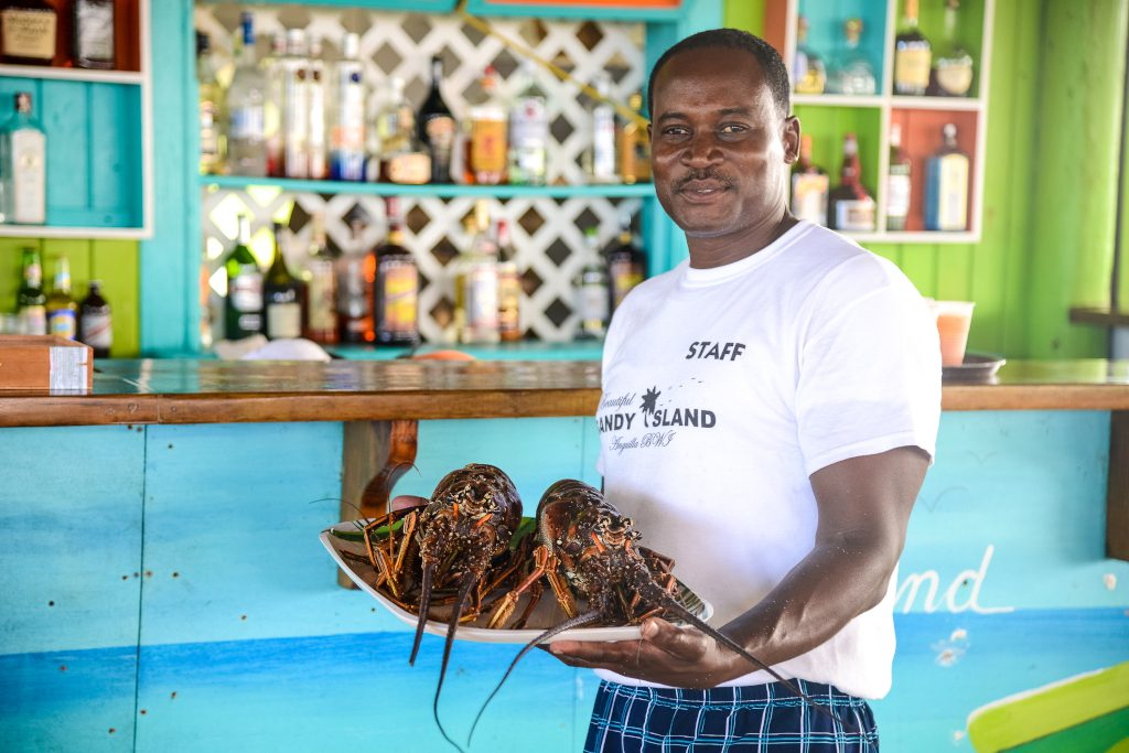 Seafood is popular in Anguilla