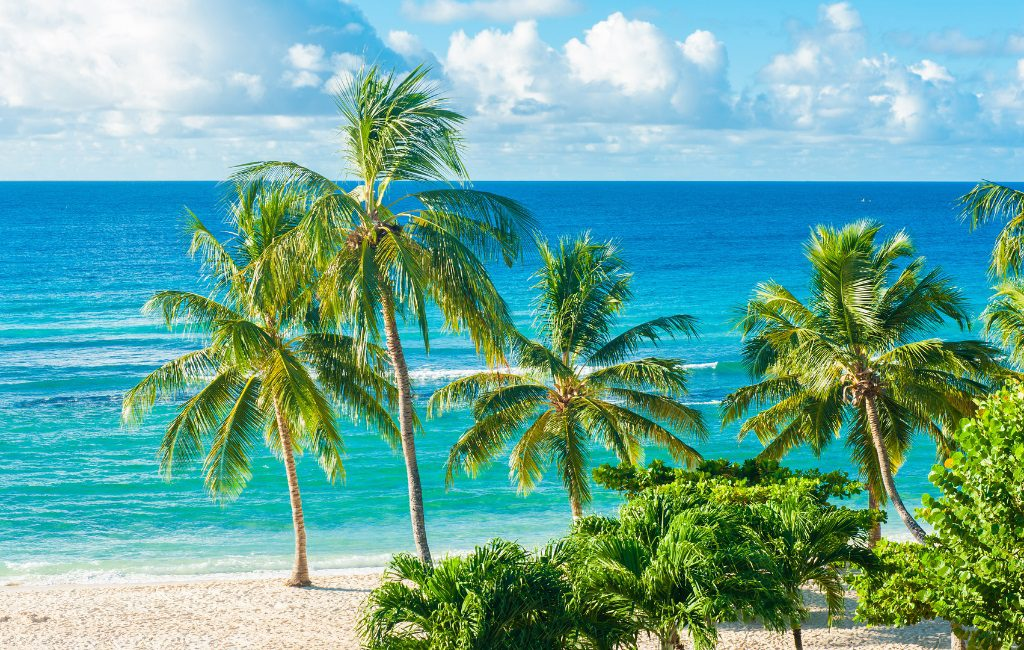 Barbados is noted for its wonderful beaches