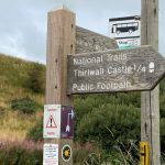 The area affords easy walking along the Hadrian's Wall Path