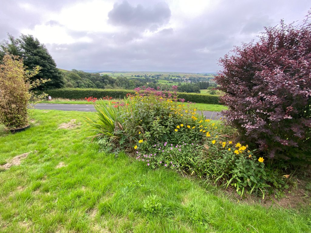 Spectacluar views from Gilsland Hall hotel