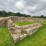 Remains of the old brides along Hadrian's Wall