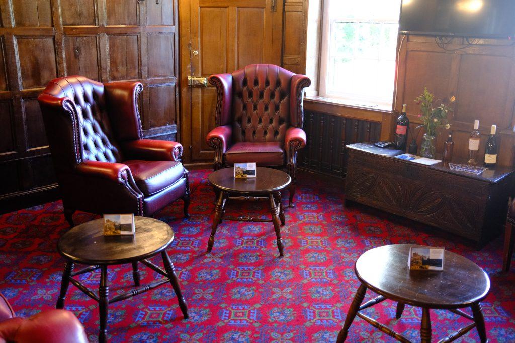 Lush interiors of the Karma Salford Hall