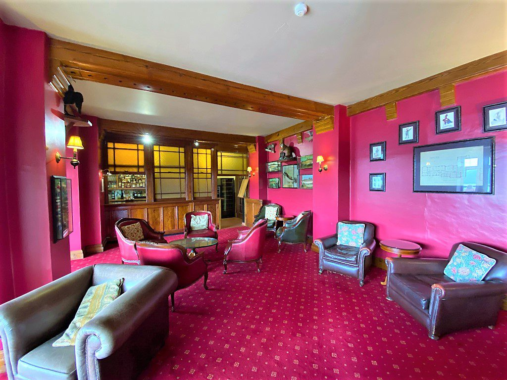Luxurious interiors at Lake Vyrnwy Hotel & Spa