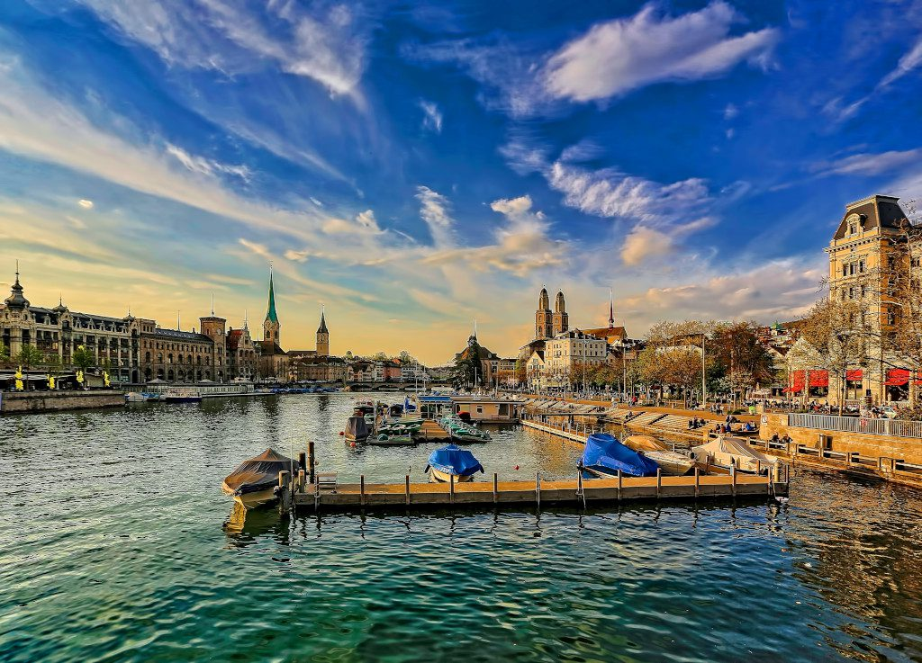 Zurich is a beautiful city to visit